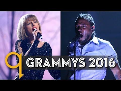 Grammys 2016: Kendrick Lamar wins big, Taylor Swift fires back at Kanye Mp3