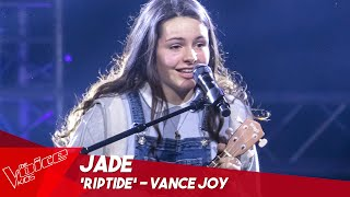 Jade - 'Riptide' | Blind Auditions | The Voice Kids Belgique