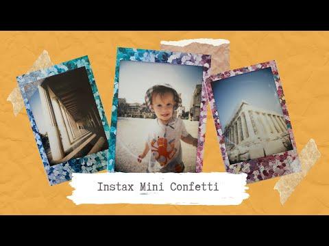 Instax Film Review - Fujifilm Instax Mini Confetti