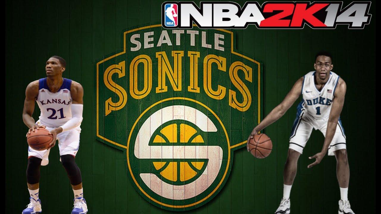 NBA 2K14 My GM - Seattle SuperSonics - Jabari Parker or ... Jabari Parker Nba 2k14