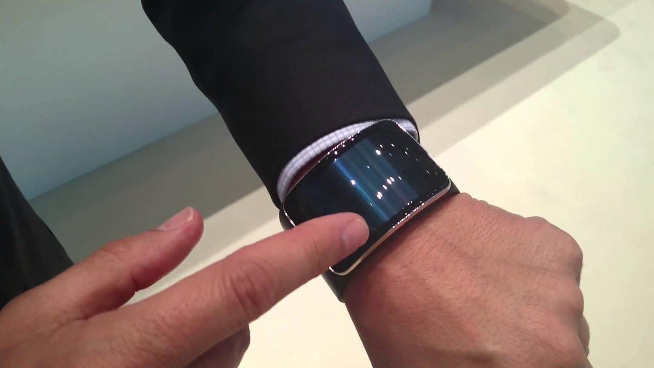 Así es el nuevo galaxy gear S de Samsung