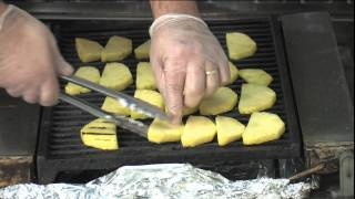 Uihc Healthful Recipes: Grilled Pineapple