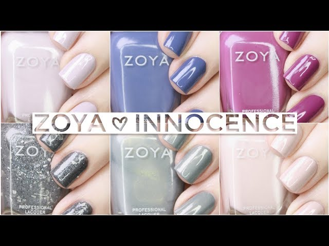 Zoya Innocence Collection Live Swatches + Review | Spring 2019