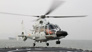 Chinese Helicopter LANDS ON US NAVY Warship