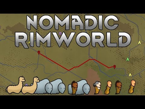 [16] Caravan Ambush & Building The New Base | Nomadic Rimworld A17