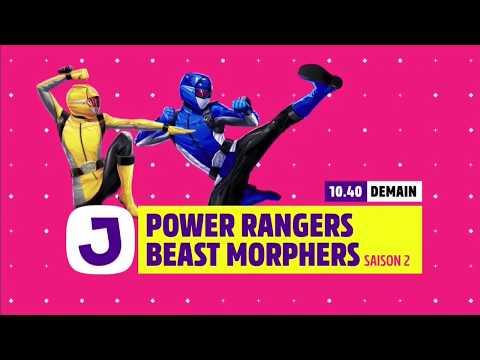 Canal J - Power Rangers Beast Morphers Season 2 Promo (France)