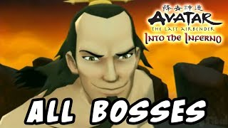 Avatar The Last Airbender: Into the Inferno All Bosses (Wii)