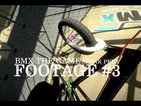 BMX THE GAME SNEAK PEEK FOOTAGE #3 | PREALPHA 0.177 GAMEPLAY | Ego Camera