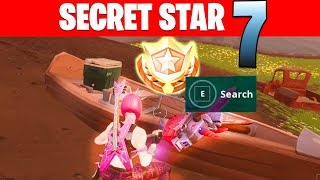 "SECRET Battle Star SEASON 6 WEEK 7 Location "" Free Tier Battle pass "" - Fortnite Battle Royale"