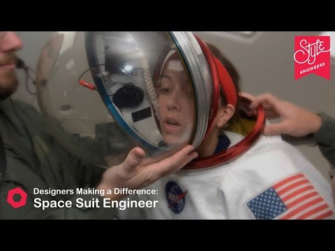 Designers Making a Difference | Space Suit Engineer