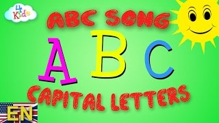 ABC SONG for children. Learn the Alphabet Song - Letters from A - Z