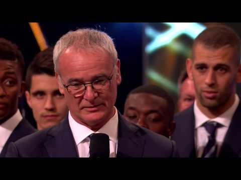 Claudio Ranieri - 2016 Coach of the Year