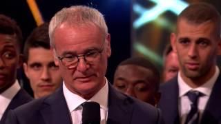 Zapętlaj Claudio Ranieri - 2016 Coach of the Year   demobob