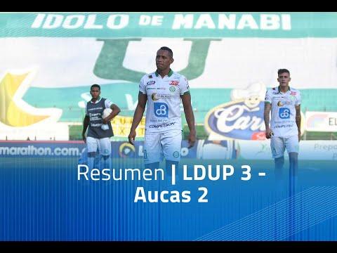 LDU Portoviejo Aucas Goals And Highlights