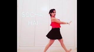 SOCHA HAI SONG : BAADSHAHO MOVIE  Dance video    Rstglobalite   Emran Hashmi & Esha Gupta