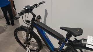Bosch's eBike Intelligent Smartphone Cockpit, CES 2019 [4K Video]