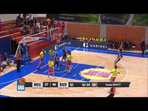 ABA Liga 2016/17 highlights, Round 3: Mega Leks - Budućnost VOLI (6.10.2016)