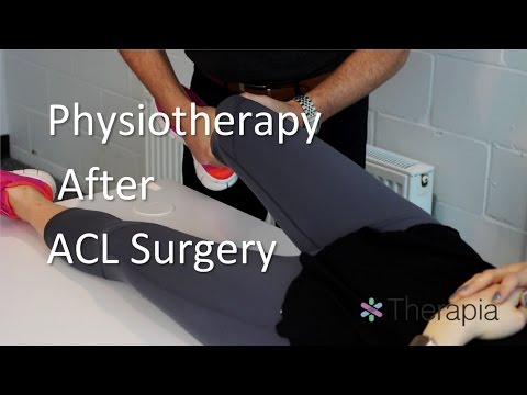 ACL Surgery Physiotherapy