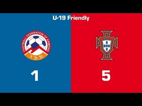 Armenia U19 - Portugal U19 1:5, U19 National Team Friendlies