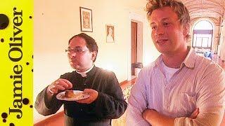 Baked Almond Tart | Jamie's Italian Unseen