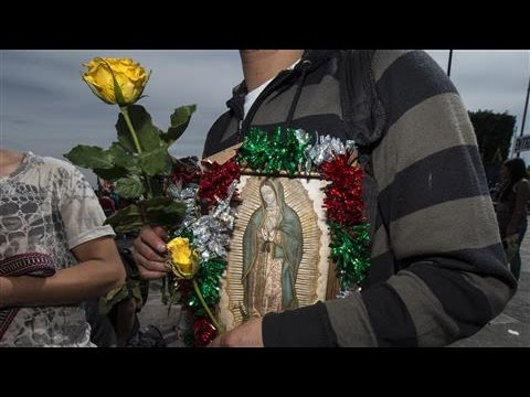 Virgin of Guadalupe Venerated in Mexico City