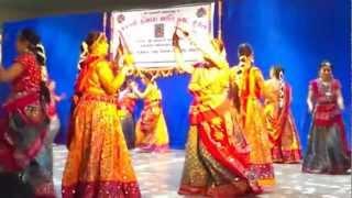 """Raas Performance - """"Aaj Radha ko shyam yaad aaya"""""""