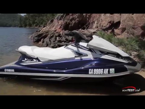 Yamaha VX Deluxe (2016-) Review Video- By BoatTEST com