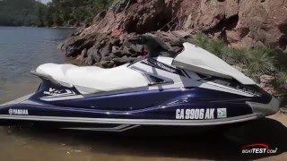 Yamaha VX Deluxe Review 2016- By BoatTest.com