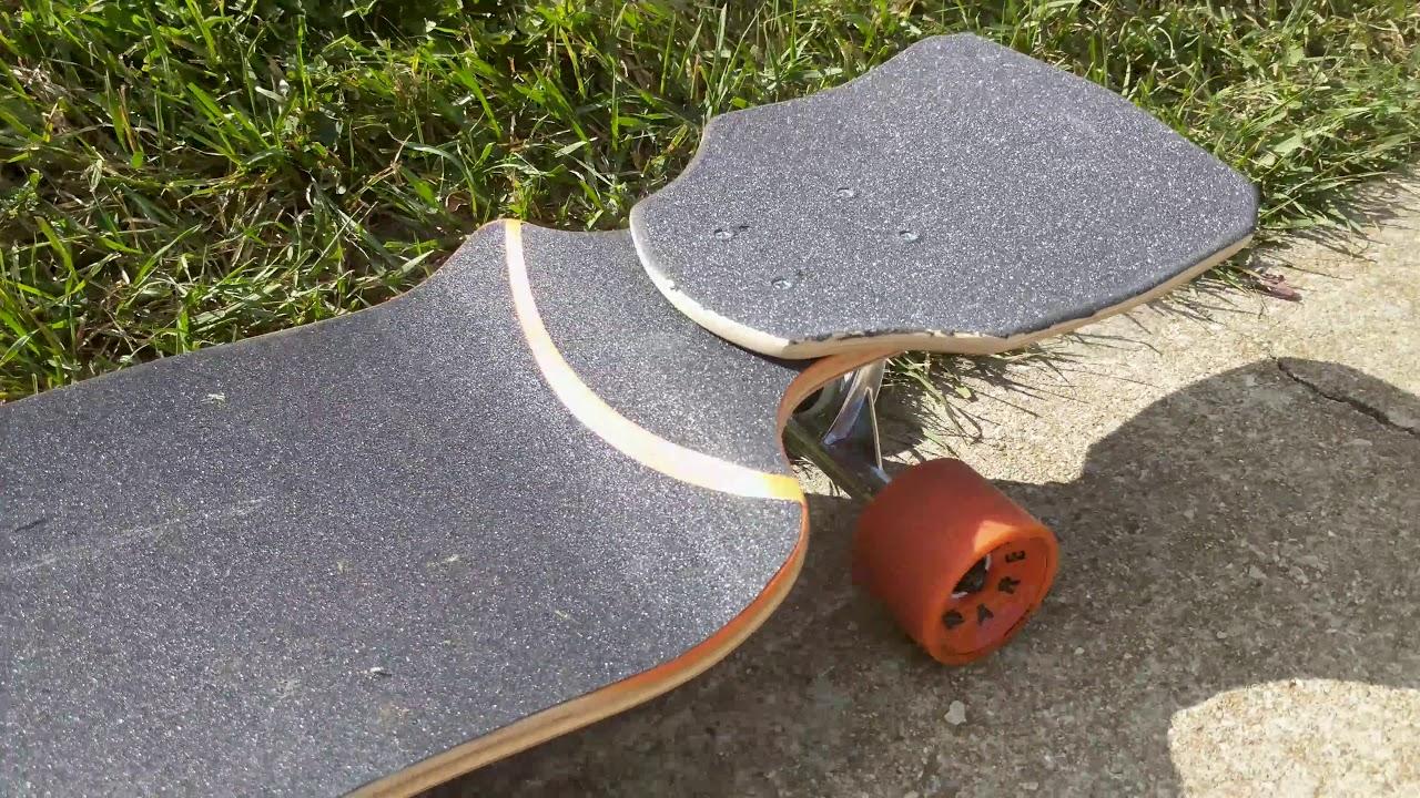 Venom Sicktail Custom Modification on my Longboard for Kick Turning -  Skating HIGHLIGHTS