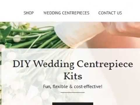 DIY - How To Set Up A Rustic Earthy Wedding Centrepiece Or Party Table Decoration