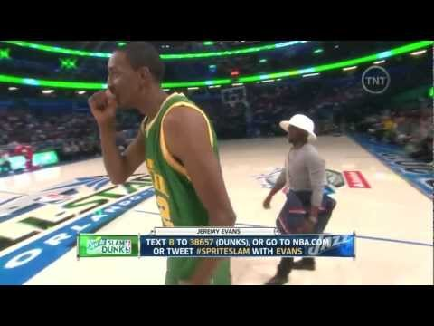 Jeremy Evans wins 2012 NBA Slam Dunk Contest