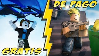 Fortnite Free VS Fortnite Pays sur Roblox Jeux Battle Royale