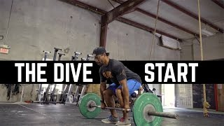"""How To Use The """"Dive Start"""" for Cleans and Deadlifts w/ Alex Maclin"""