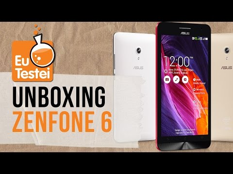 Zenfone 6 A601 ASUS Smartphone - Vídeo Unboxing EuTestei Brasil