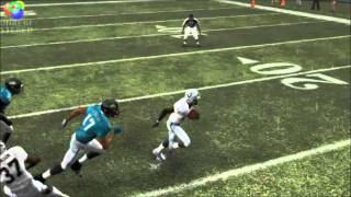 97 Yard Raiders Kickoff Return for TD against Jags