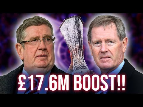 Rangers land STUNNING £17.6m windfall - and more cash on the way