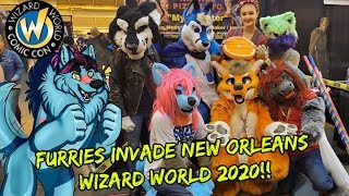 Furries Invade New Orleans Wizard World Comic Con 2020!!!
