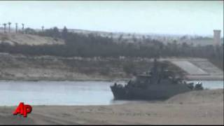 Iranian Naval Vessels Enter Suez Canal