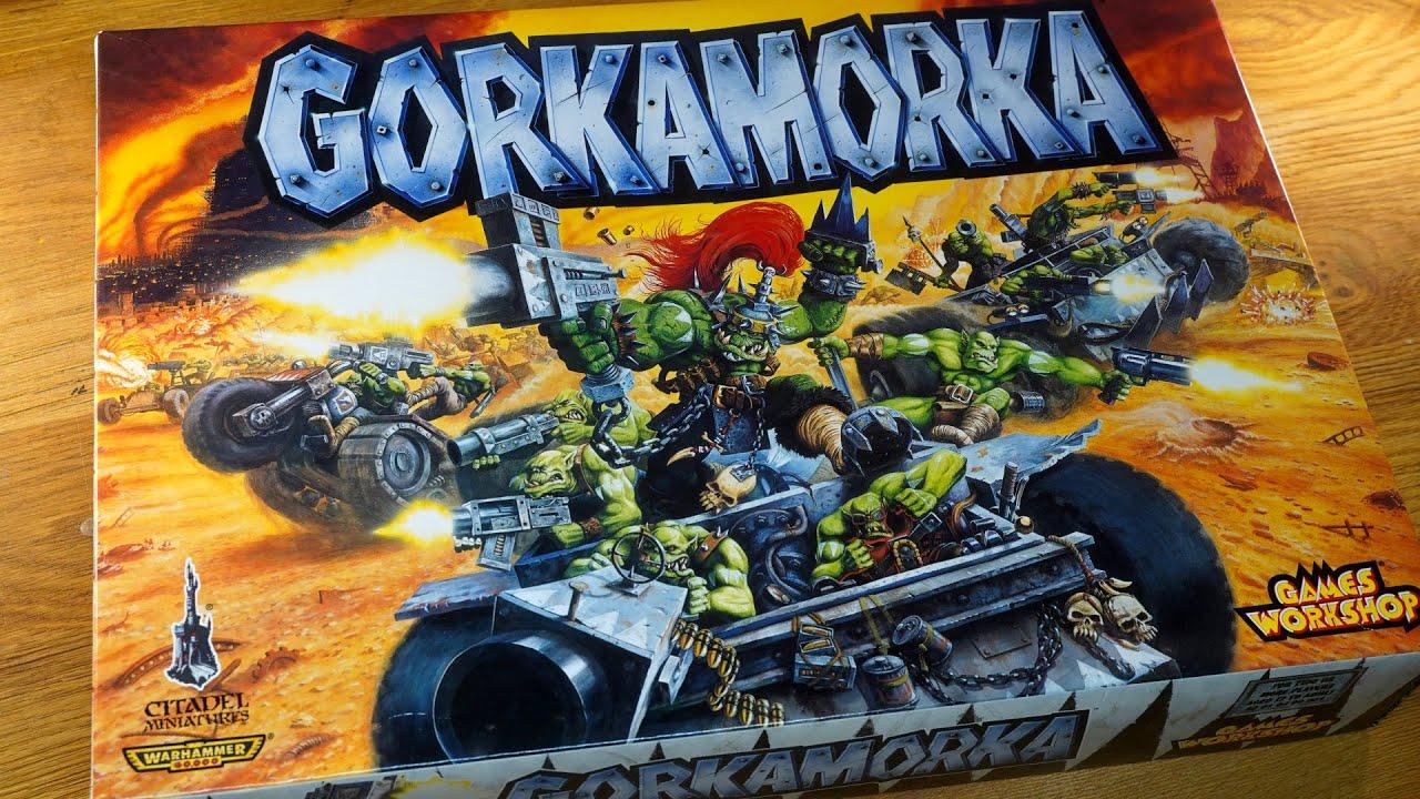 Retro Warhammer unboxing: 1997 Gorkamorka