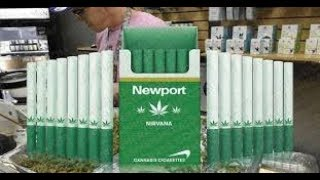 Newport Nirvana cannabis cigarette,s (joints)