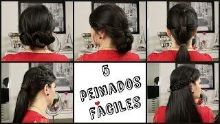 5 Peinados Fáciles! - Karla Marie