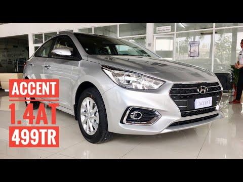 Đánh giá Hyundai Accent 1.4 At 499tr 2019.Hỗ trợ 100% chi phí đi đăng kí xe. LH: 0378.794.397