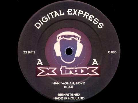 Digital Express - Man, Woman, Love