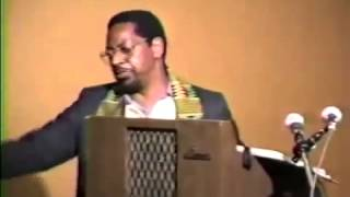 White Supremacy, the real enemy (Dr  Amos Wilson)