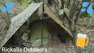 Rain all day and night | wild camping