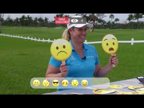 Emoji Challenge With Defending Bahamas Champion Brittany Lincicome