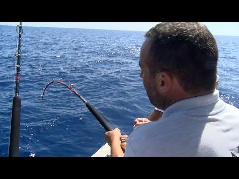 Copa de España de Currican de Altura, Mallorca  Pescando es