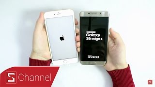Schannel - Speed test iPhone 6S Plus vs Galaxy S6 Edge Plus: Thêm một cơ hội cho Samsung