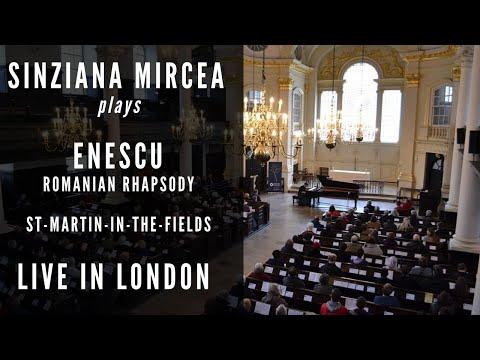 Sinziana Mircea plays Enescu - Romanian Rhapsody @ St Martin-in-the-Fields LONDON
