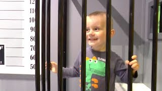 Kids Pretend Play indoor playground at center for children with nursery rhymes songs  by Funny Timur